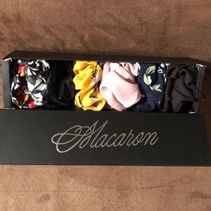 Accessories - 6 adorable scrunchies in a sweet Macaron box.💕